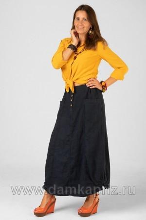 """Юбка """"Марта"""" - интернет магазин одежды из льна Дамский Каприз"""