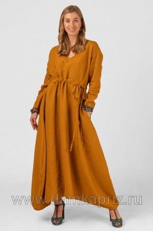 """Платье """"Камилла"""" - интернет магазин одежды из льна Дамский Каприз"""