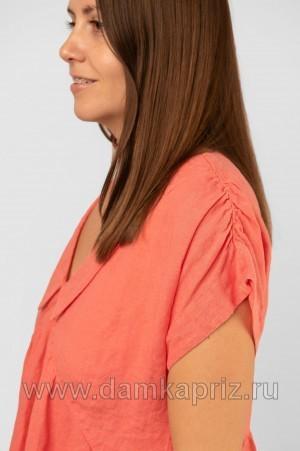 """Платье """"Малена"""" - интернет магазин одежды из льна Дамский Каприз"""