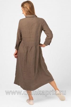"""Платье """"Жасмин"""" - интернет магазин одежды из льна Дамский Каприз"""
