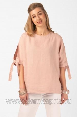 """Блуза """"Муза"""" - интернет магазин одежды из льна Дамский Каприз"""