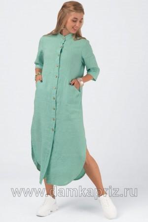 """Платье """"Дарья"""" - интернет магазин одежды из льна Дамский Каприз"""