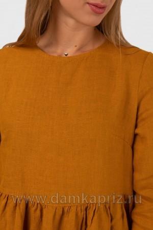 """Платье """"Дора"""" - интернет магазин одежды из льна Дамский Каприз"""
