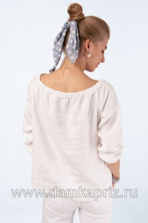 """Блуза """"Дана"""" - интернет магазин одежды из льна Дамский Каприз"""