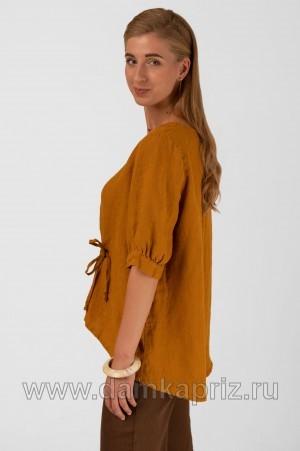 """Блуза """"Олеся"""" - интернет магазин одежды из льна Дамский Каприз"""