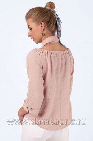 """Блуза """"Сабина"""" - интернет магазин одежды из льна Дамский Каприз"""